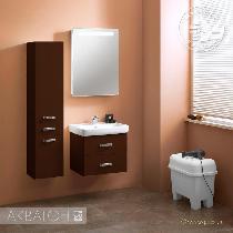 Комплект мебели Акватон Америна 60 темно-коричневая