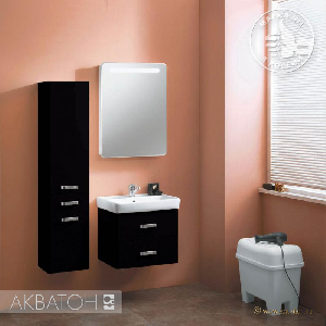 Комплект мебели Акватон Америна 60 черная