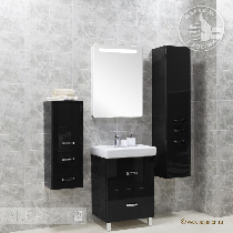 Комплект мебели Акватон Америна 60 Н чёрная