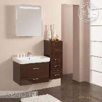 Комплект мебели Акватон Америна 70 темно-коричневая