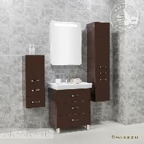 Комплект мебели Акватон Америна 70 М тёмно-коричневая