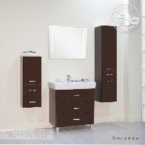 Комплект мебели Акватон Америна 80 М тёмно-коричневая