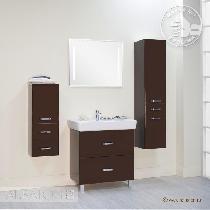 Комплект мебели Акватон Америна 80 Н тёмно-коричневая
