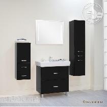 Комплект мебели Акватон Америна 80 Н чёрная