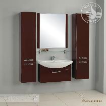Комплект мебели Акватон Ария 80 тёмно-коричневая