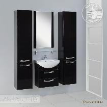Комплект мебели Акватон Ария 50 М чёрный глянец