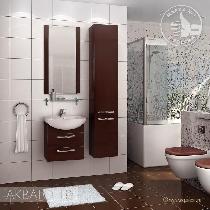Комплект мебели Акватон Ария 50 М тёмно-коричневая