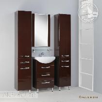 Комплект мебели Акватон Ария 50 Н тёмно-коричневая