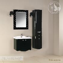 Комплект мебели Акватон Венеция 65 черный глянец