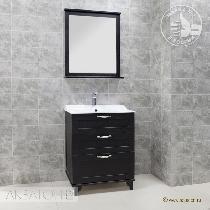Комплект мебели Акватон Леон 65 Н ясень черный