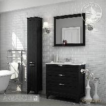 Комплект мебели Акватон Леон 80 Н ясень черный