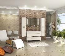 Комплект мебели Акватон Мадрид 120 М 2ящ