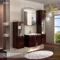 Комплект мебели Акватон Севилья 80 гранат