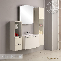 Комплект мебели Акватон Севилья 80 белый жемчуг