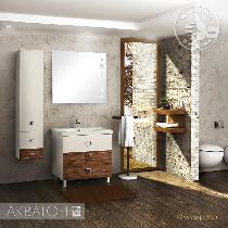 Комплект мебели Акватон Стамбул 85М эбони темный