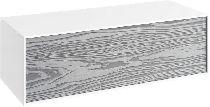 Тумба дополнительная Aqwella Genesis миллениум серый GEN0310MG