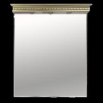 Зеркало-шкаф Misty Афина 93 Л-Афи03090-033  бежевый / золото