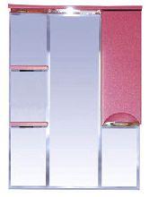 Зеркало-шкаф Misty Жасмин 74 П-Жас02075-122СвП правая красный