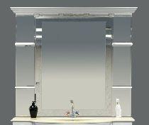 Зеркало Misty Мелиса 130 Л-Мел03130-0118 универсальная белый