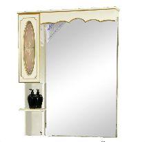 Зеркало-шкаф Misty Монако 93 Л-Мнк02090-033Л левая бежевый