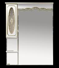 Зеркало-шкаф Misty Монако 93 Л-Мнк02090-013Л левая белый