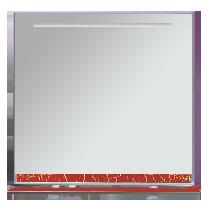 Зеркало-шкаф Misty Джулия 105 Л-Джу04105-5210 универсальная белый