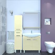 Зеркало-шкаф Misty Джулия 65 Л-Джу04065-0610 универсальная голубой