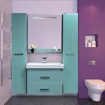Зеркало-шкаф Misty Джулия 85 Л-Джу04085-0610 универсальная голубой
