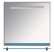 Зеркало Misty Джулия 120 Л-Джу03120-1110 универсальная синий