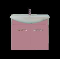 Тумба под раковину Misty Джулия 105 Л-Джу01105-1210По универсальная розовый