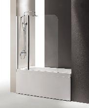 Шторка для ванны Cezares ECO-O-V-21-120/140-C-Cr прозрачное