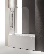 Шторка для ванны Cezares ECO-O-V-21-120/140-P-Cr-L матовое