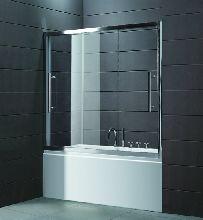Шторка для ванны Cezares TRIO-D-V-22-190/145-P-Cr матовое