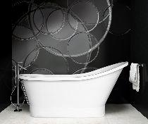 Ванна из литого мрамора Besco GLORIA 150