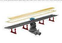 Душевой лоток Pestan Confluo Premium Gold Line 13100050, 300мм