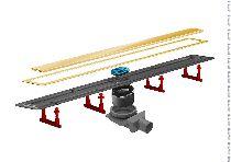 Душевой лоток Pestan Confluo Premium Gold Line 13100051, 450мм