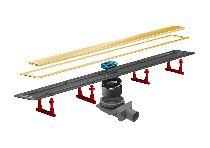 Душевой лоток Pestan Confluo Premium Gold Line 13100052, 550мм
