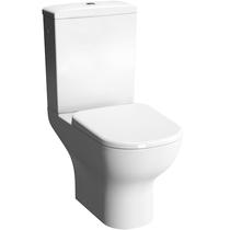 Комплект напольного безободкового унитаза Vitra D-Light Rim-Ex 9014B003-7209 с сиденьем микролифт
