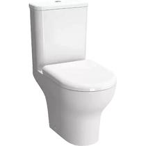 Комплект безободкового унитаза Vitra Zentrum Rim-Ex 9824B003-7206 стандартное сиденье