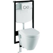 Комплект инсталляция+унитаз Vitra S50 9003B003-7200 сиденье микролифт