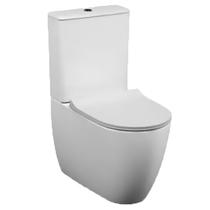Унитаз напольный Vitra Sento Rim-ex 9830B003-7203 сиденье тонкое микролифт