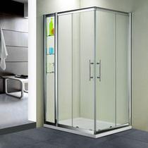 Душевой угол RGW HO-43 110x80x195, цвет профиля хром, цвет стекла прозрачное (03064381-11)