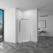 Душевой угол RGW SV-81 100x100x195, цвет профиля хром, цвет стекла прозрачное (32328100-11)