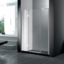 Душевая дверь RGW HO-03, цвет профиля хром, цвет стекла прозрачное, 130x195