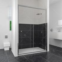 Душевая дверь RGW CL-12, цвет профиля хром, цвет стекла прозрачное, 100x185