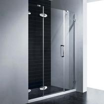 Душевая дверь RGW SA-01, цвет профиля хром, цвет стекла прозрачное, 140x195
