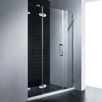 Душевая дверь RGW SA-01, цвет профиля хром, цвет стекла прозрачное, 150x195