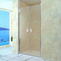 Душевая дверь RGW LE-06, цвет профиля хром, цвет стекла прозрачное, 100x195