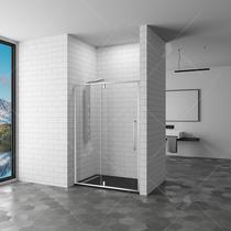 Душевая дверь RGW SV-03, цвет профиля хром, цвет стекла прозрачное, 90x200