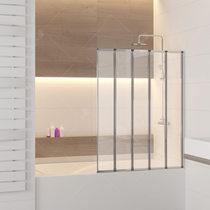 Шторка на ванну RGW SC-22, профиль хром, стекло прозрачное 120x150 (03112212-11)